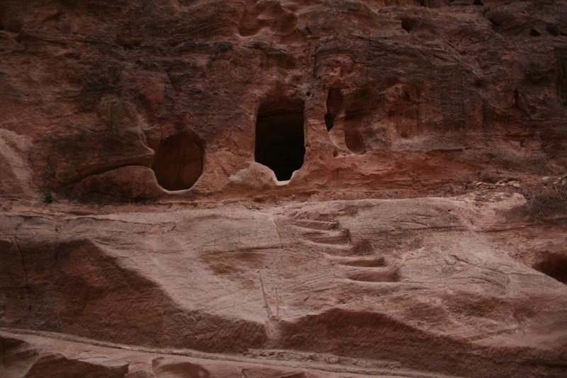 Tombs in the siq