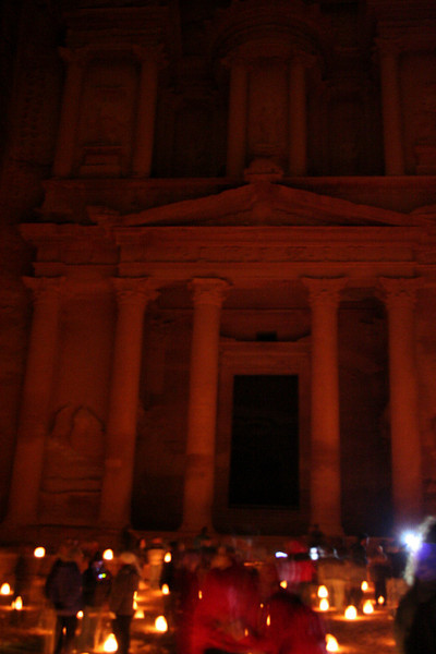 Al-khazneh, The treasury (took this without the flash, used the tripod)