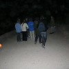 Walking towards the siq (photo taken with flash and hence sucks)