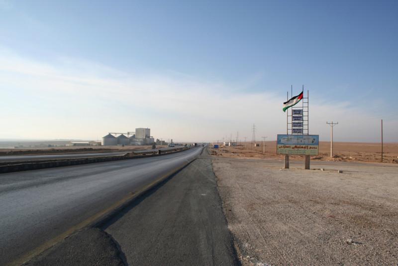 Desert Highway: Looking towards Petra
