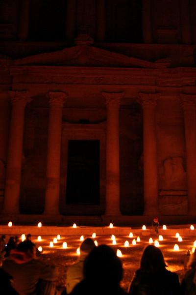 The candlelit treasury
