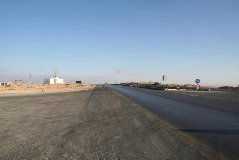 Desert Highway - Looking towards Amman