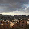 View of Wadi Musa from our hotel