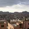 View of Petra from our hotel