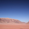 View of Wadi Rum from the top of the dune