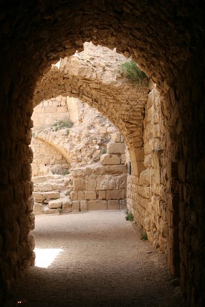 Karak - Archways within Karak castle.