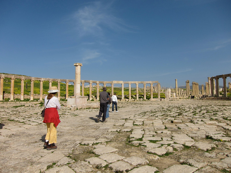 Jerash, where the WRC Jordan Race Started