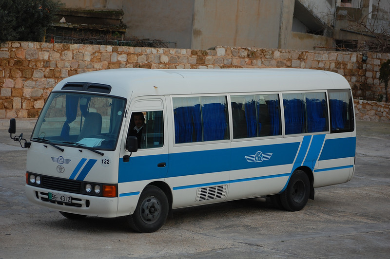 Our Transport through Jordan, Piloted by Jihad