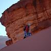 Wadi Rum Dune Climbing