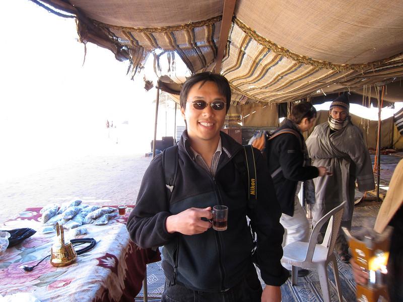 Wadi Rum Bedouin Tent