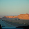 Leaving Wadi Rum