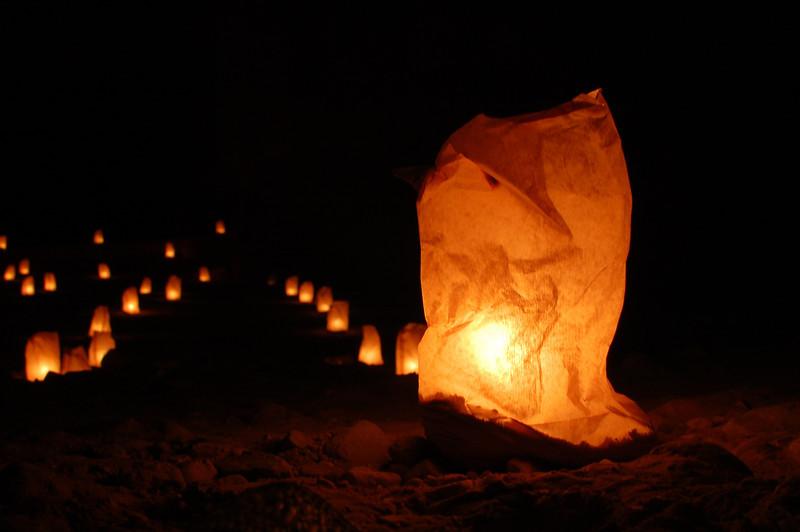 Petra at Night (1)