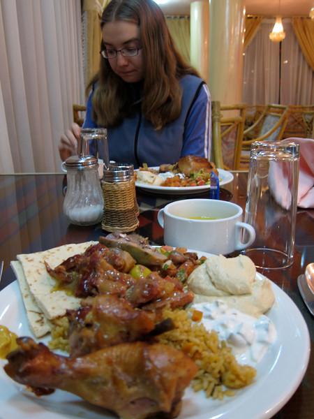 Petra Hotel Dinner