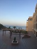 View of Dead Sea from window