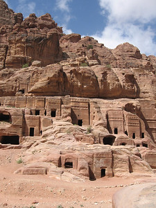 The royal tombs.