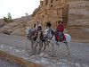 Day 4, Petra.  A short unnecessary horse ride to the entrance of the Siq. Well, it made a nice photo.