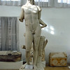 Feb. 26, 2004. Of the ancient statues that still have heads, most have been defaced by smashing the noises.