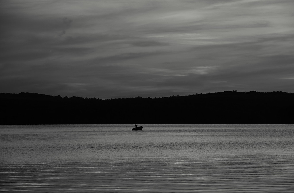 Subset Fisherman B&W