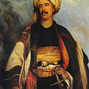 Another artist painted Roberts in his souvenir Arab clothes.