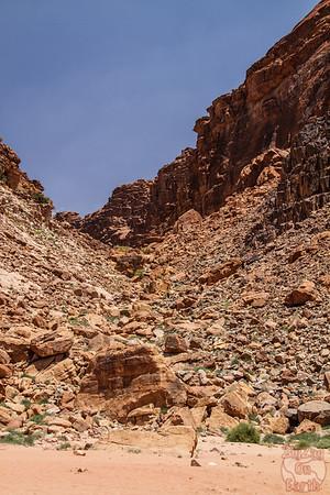Wadi Rum, Jordan: Lawrence's spring