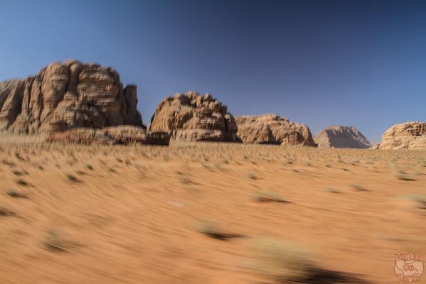 Wadi Rum, Jordan: landscapes 2
