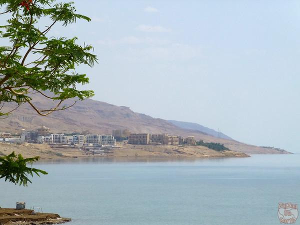 Dry landscape Dead Sea