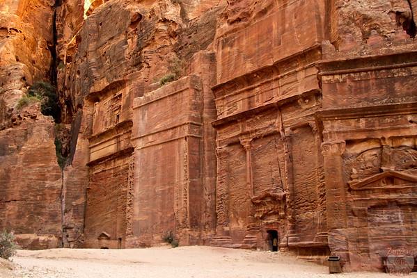 Street of facades Petra photo 1