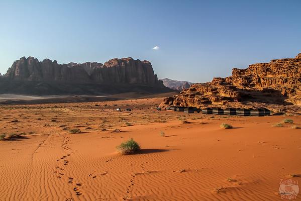 Wadi Rum, Jordan: night camp