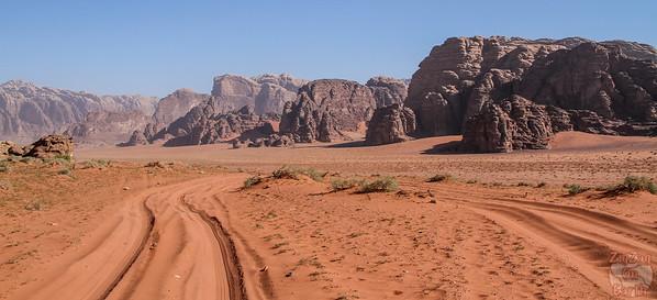 Wadi Rum, Jordan: landscapes 3