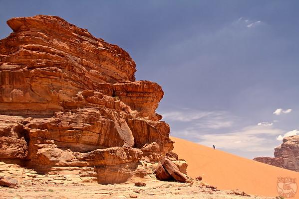 Wadi Rum, Jordan: sand dunes 1