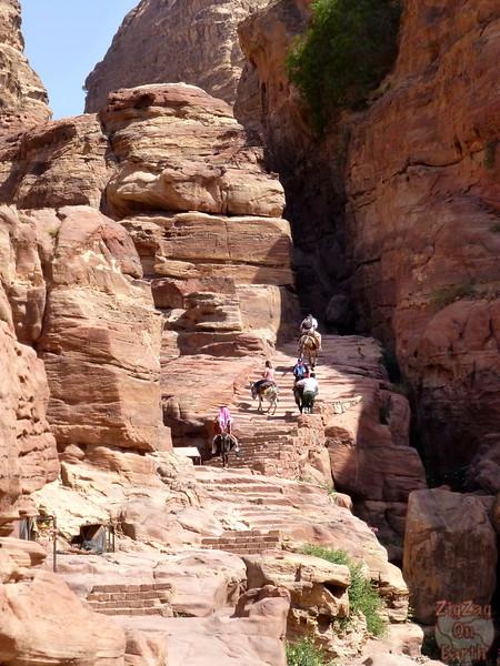Climb to the Monastery, Petra photo 1