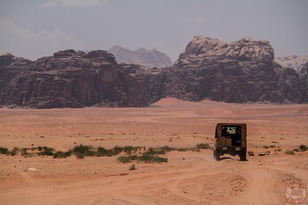 Wadi Rum, Jordan: landscapes 1