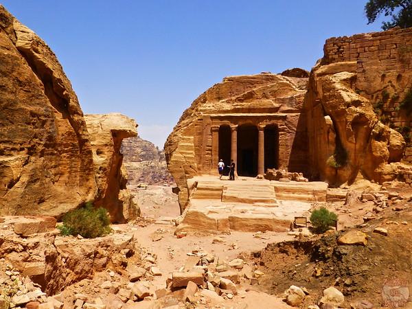 Garden temple, wadi al-Farasa, Petra