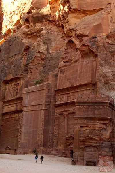 Street of facades Petra photo 2