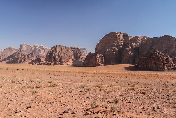 Wadi Rum, Jordan: landscapes 4