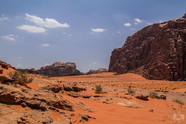 Wadi Rum, Jordan: sand dunes 3
