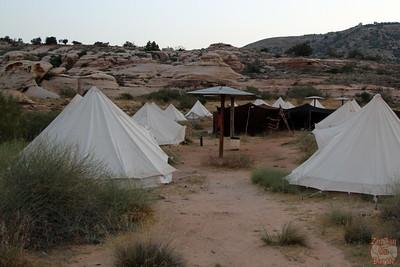 Rummana campsite, Dana Nature Reserve, Jordan