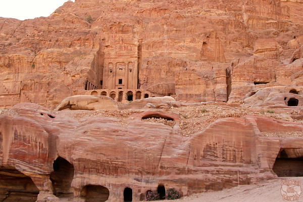 Petra monuments - The royal tombs