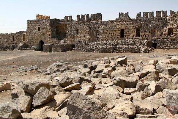 Qasr Azraq desert castle
