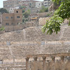 The Roman Theater is the most impressive remnant of Roman Philadelphia and was probably built in the 2nd. century AD.  The theater seats 6,000.