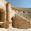 The South Theater was built in the 1st century AD and could seat 5,000 spectators.