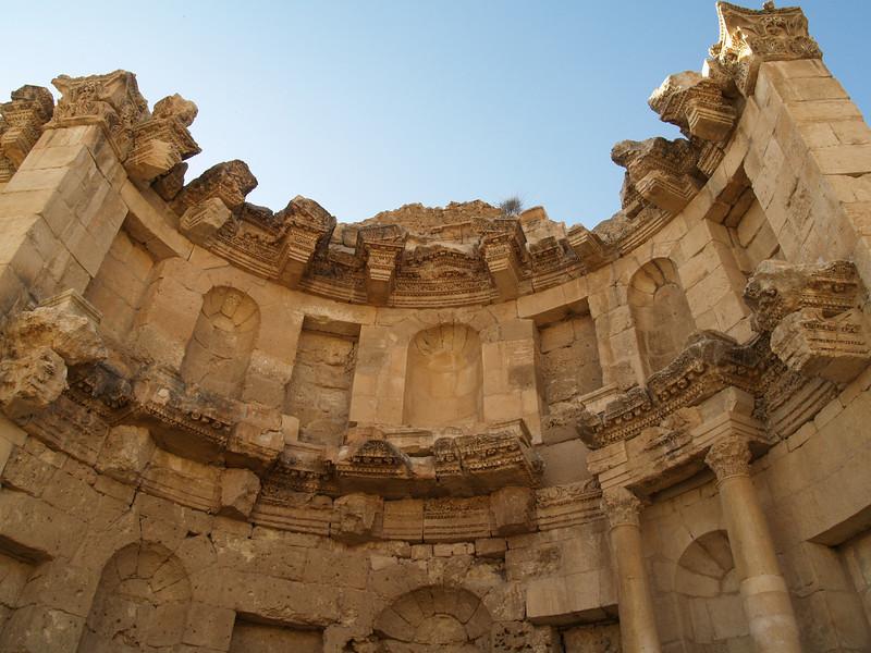 Jerash; Nymphaeum detail