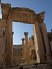 Jerash; main entrance to the cathedral.  Mid 4th century.  Unfortunately little remains of the original cathedral.