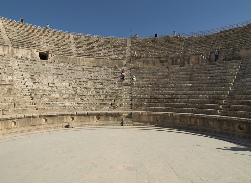Jerash; South Theater