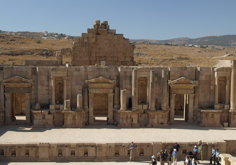 Jerash; South Theater