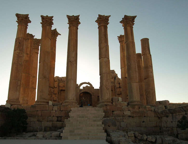Jerash; Temple of Artemis