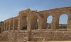 Jerash; exterior of the Hippodrome.