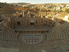 Jerash; North Theater.  Built in 165 A.D. and extended in 3rd century to accommodate 1,600 people.  As with the South Theater, it is also used for concerts every year.