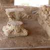 The next  photos are of all that remains of the three Byzantine churches that were built on top of one another in the 5th and 6th centuries to mark the site of the baptism of Jesus.