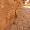 Original channels cut into the walls to bring water to Petra.